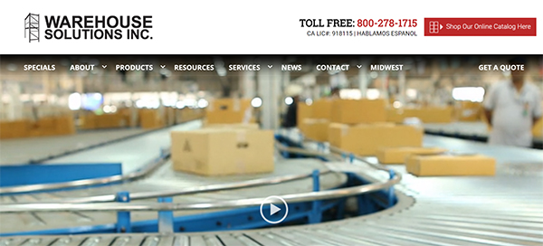 Industrial Website Deisgn Santee