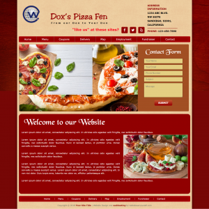 WordPress Pizza Restaurant Theme